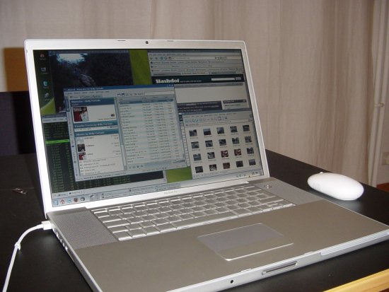 Gentoo Linux on Apple MacBook Pro Core2Duo